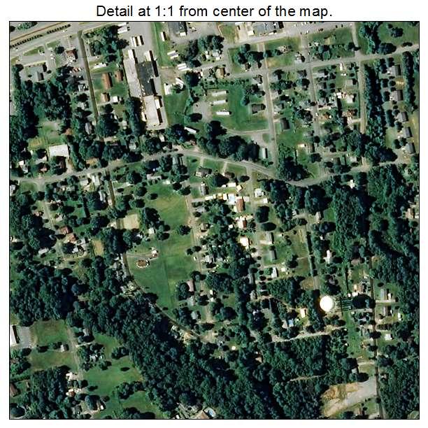 Long View, North Carolina aerial imagery detail