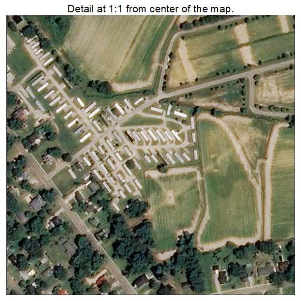 Lucama, North Carolina aerial imagery detail