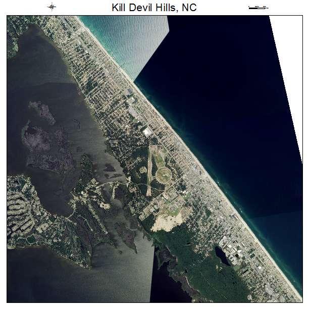 North Hills At Town Center: Aerial Photography Map Of Kill Devil Hills, NC North Carolina