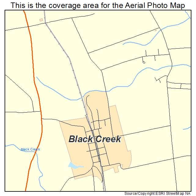 Black Creek, NC location map