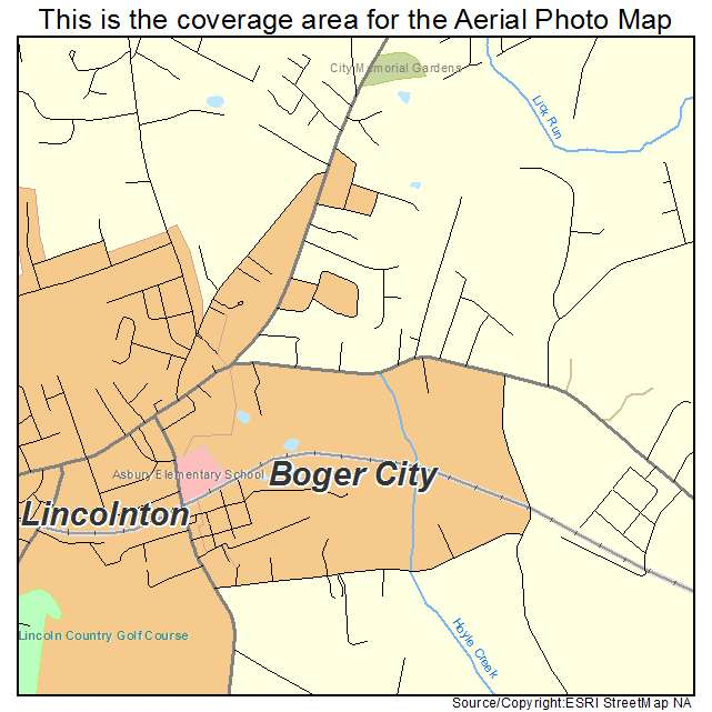 Boger City, NC location map