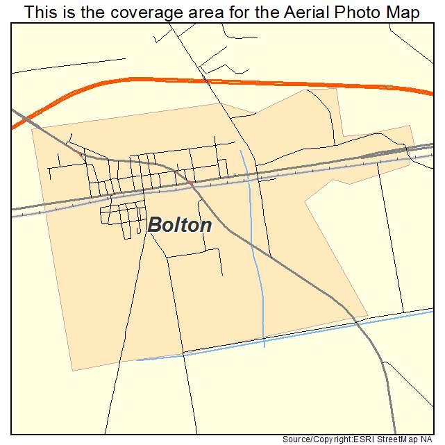 Bolton, NC location map