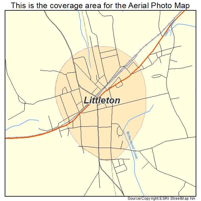 Littleton, NC location map
