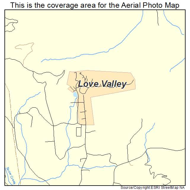 Love Valley, NC location map