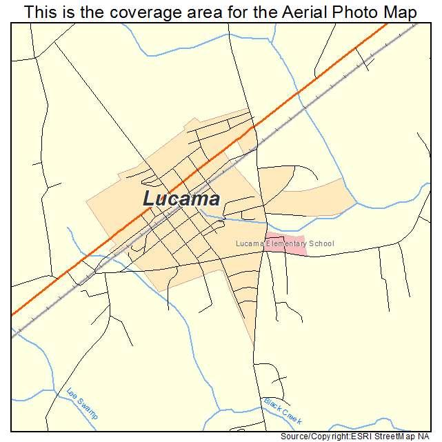 Lucama, NC location map