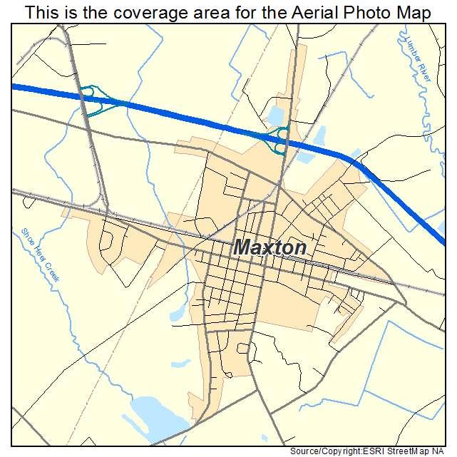 Maxton Nc Map.Aerial Photography Map Of Maxton Nc North Carolina