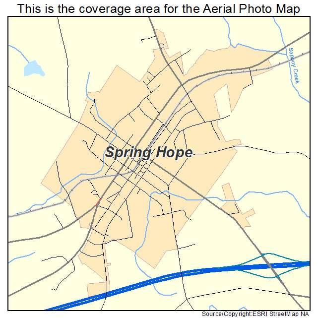 spring hope nc map Aerial Photography Map Of Spring Hope Nc North Carolina