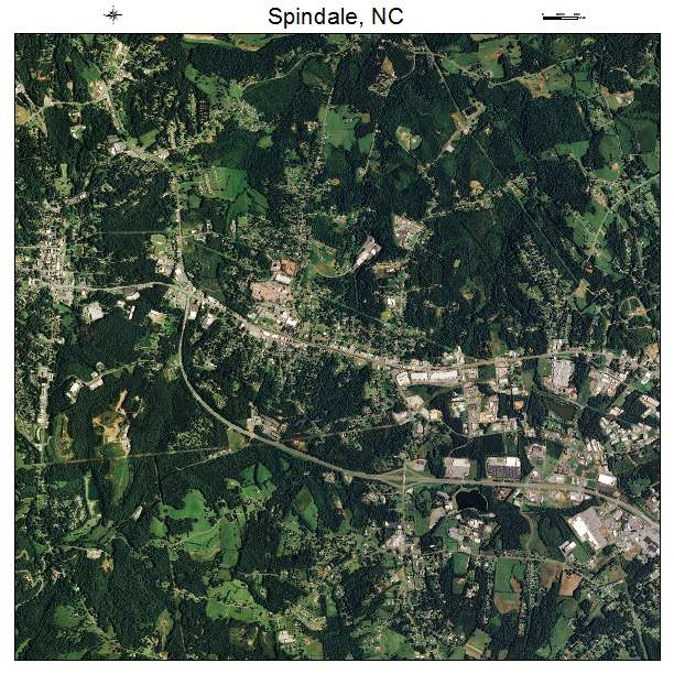 Spindale Nc Map.Aerial Photography Map Of Spindale Nc North Carolina