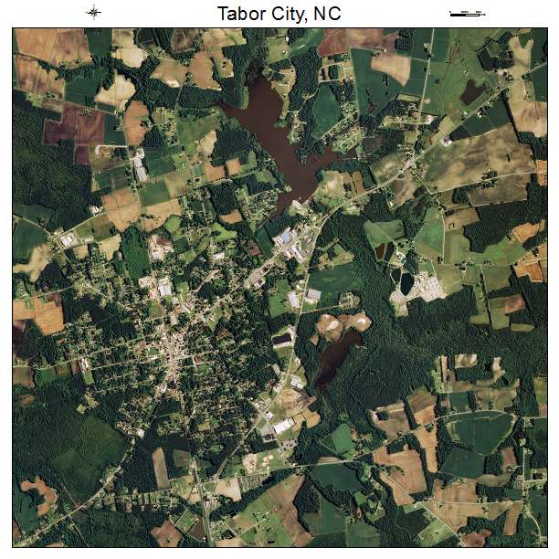 Tabor City Nc Map.Aerial Photography Map Of Tabor City Nc North Carolina