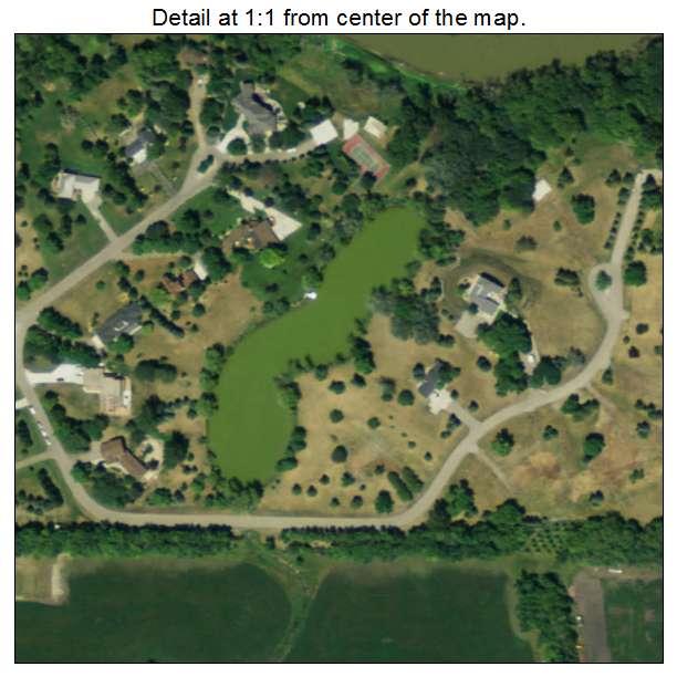 Briarwood, North Dakota aerial imagery detail