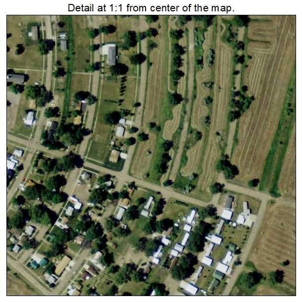 Riverdale, North Dakota aerial imagery detail