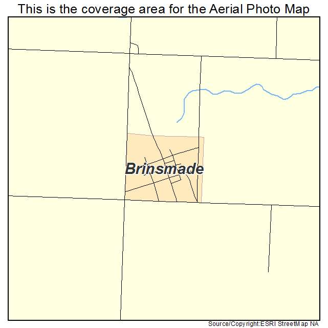 Brinsmade, ND location map