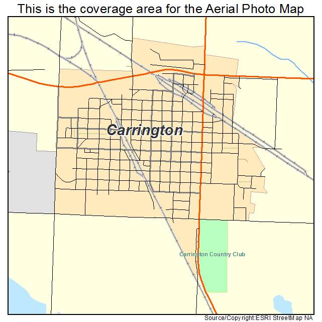 Aerial Photography Map of Carrington, ND North Dakota on carrington nd map, foster county nd map, carrington north dakota weather, carrington nd weather, carrington north dakota hotels, fortuna nd map, mohall nd map, kensal nd map, cavalier nd map,