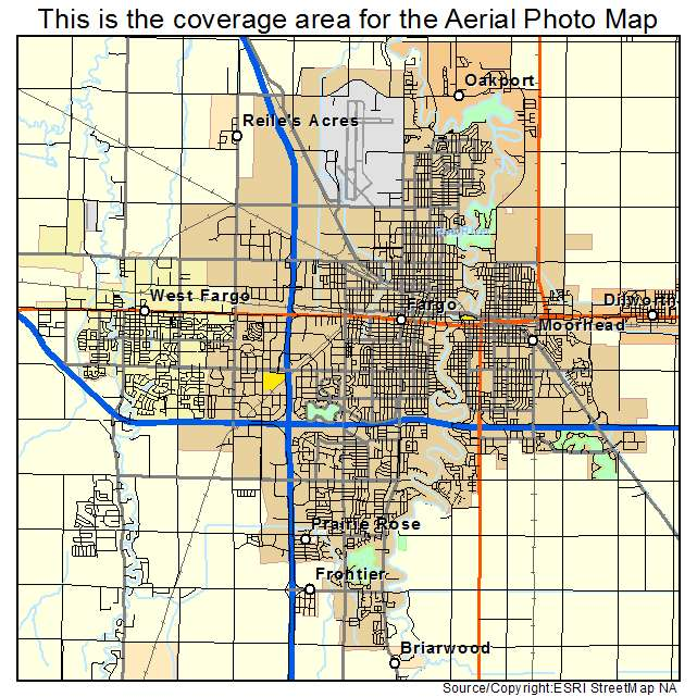 Fargo Nd Map Related Keywords Amp Suggestions  Fargo Nd Map