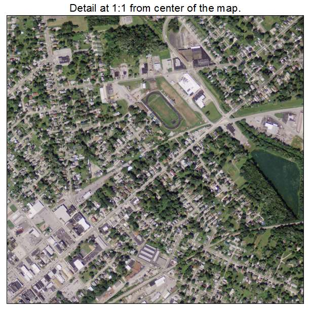 Aerial Photography Map Of Norwalk Oh Ohio
