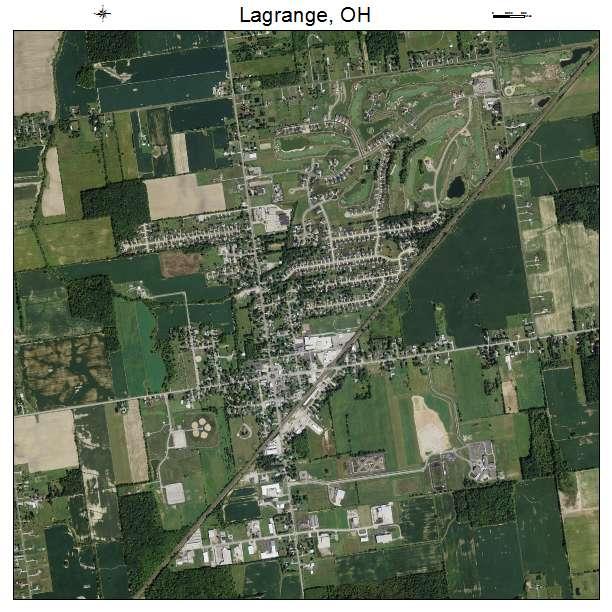 Lagrange Ohio Map.Aerial Photography Map Of Lagrange Oh Ohio