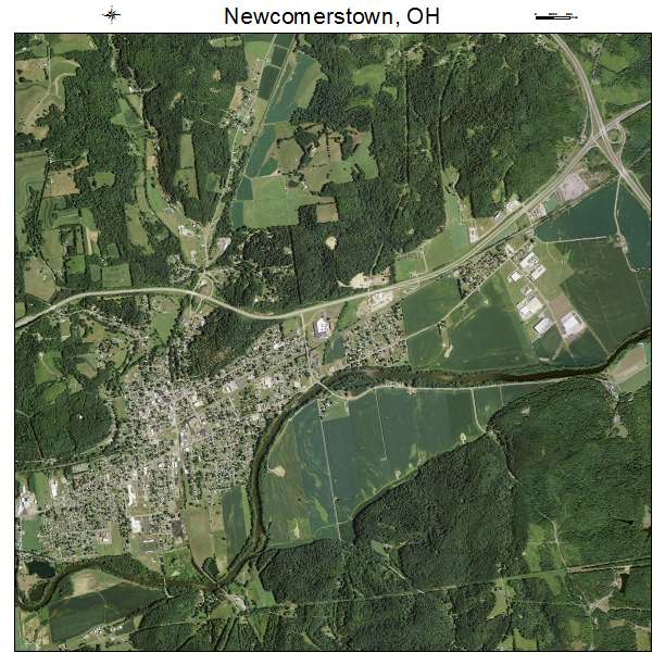Newcomerstown Ohio Map.Aerial Photography Map Of Newcomerstown Oh Ohio