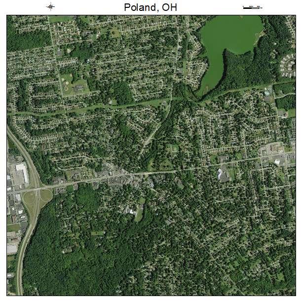 Map Of Poland Ohio Aerial Photography Map of Poland, OH Ohio