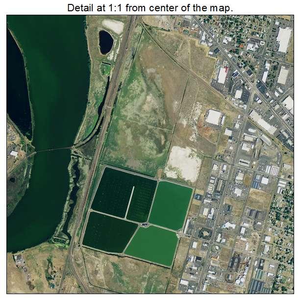 Aerial Photography Map Of Klamath Falls, OR Oregon
