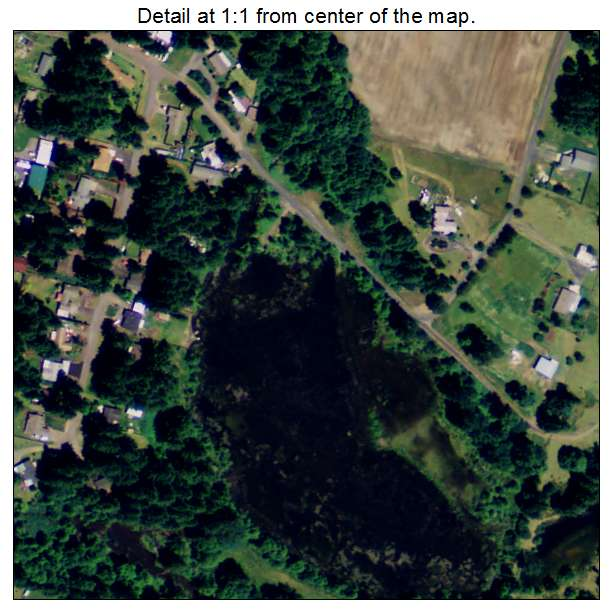 Lyons Oregon Map.Aerial Photography Map Of Lyons Or Oregon