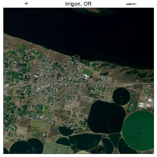 Irrigon Oregon Map.Aerial Photography Map Of Irrigon Or Oregon