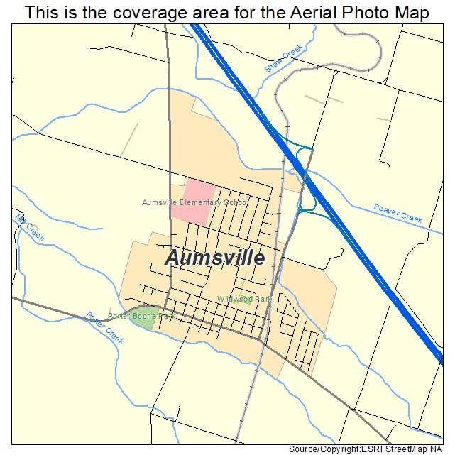 Aumsville Oregon Map Aumsville or Location Map