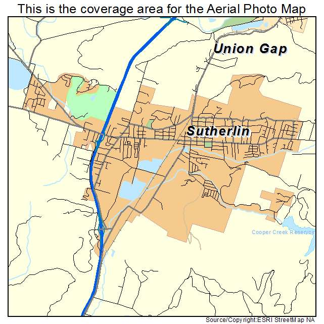 Sutherlin Or Oregon Aerial Photography Map 2014