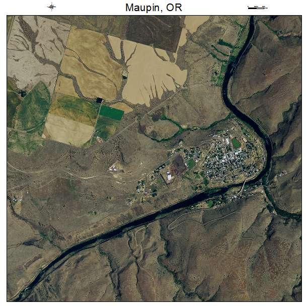 Maupin Oregon Map Maupin Oregon Map