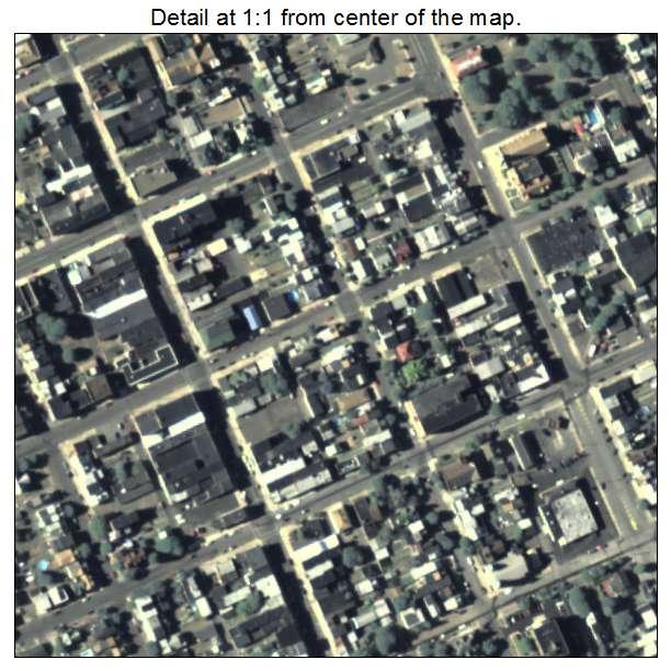 Mount Carmel, Pennsylvania aerial imagery detail