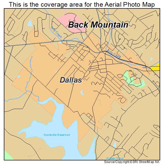 map of dallas pa Aerial Photography Map Of Dallas Pa Pennsylvania map of dallas pa