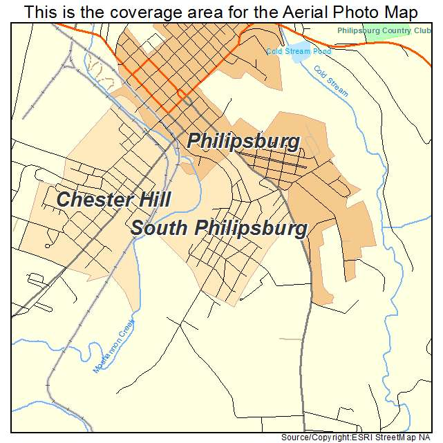 Philipsburg Ny: Aerial Photography Map Of South Philipsburg, PA Pennsylvania