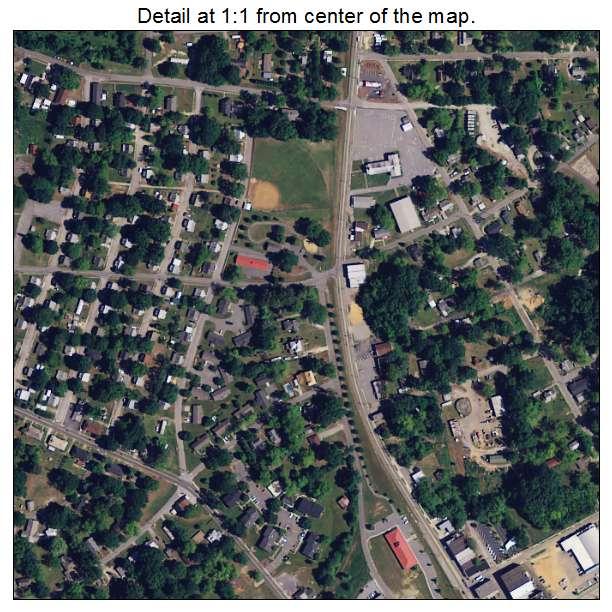 Belton, South Carolina aerial imagery detail