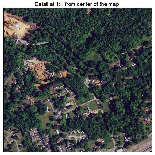 Blacksburg, South Carolina aerial imagery detail