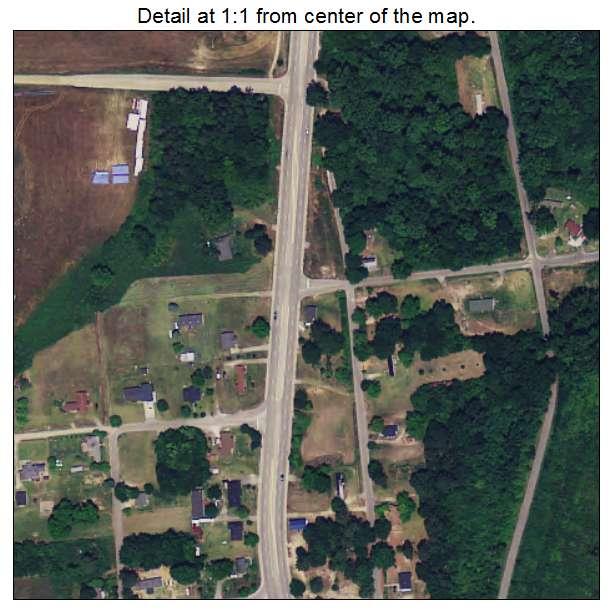 Blenheim, South Carolina aerial imagery detail