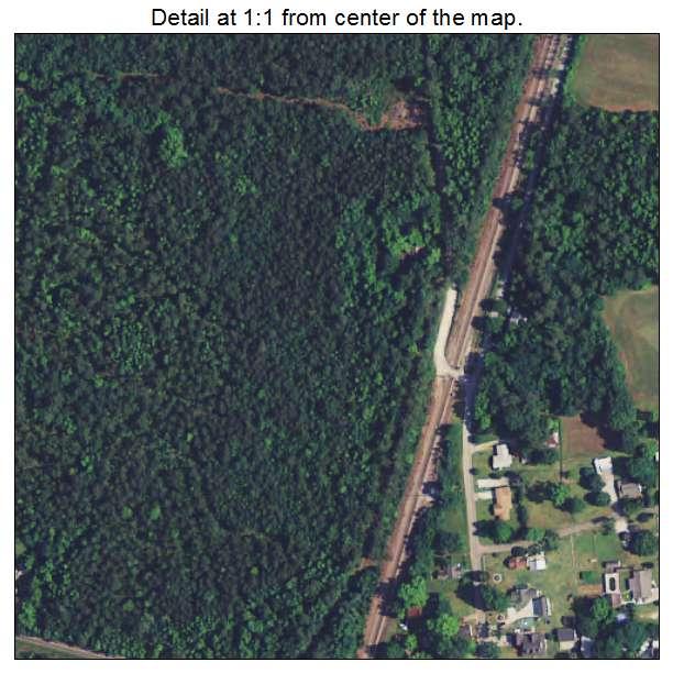 Bonneau, South Carolina aerial imagery detail