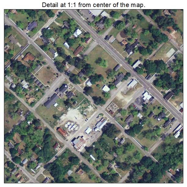 Bowman, South Carolina aerial imagery detail