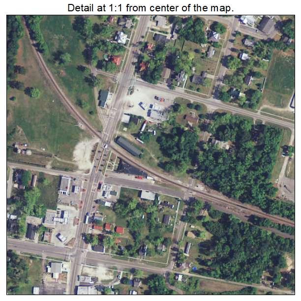 Branchville, South Carolina aerial imagery detail
