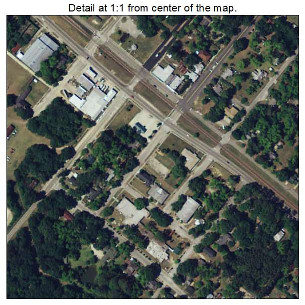 Brunson, South Carolina aerial imagery detail