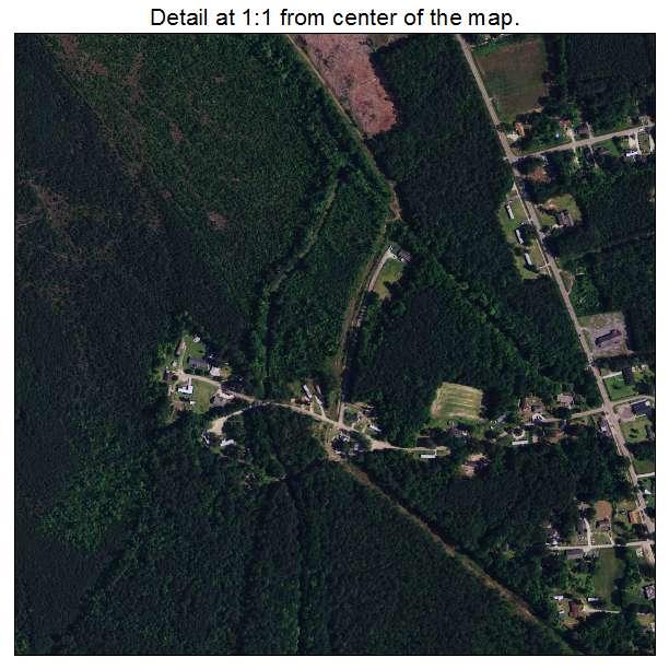 Bucksport, South Carolina aerial imagery detail