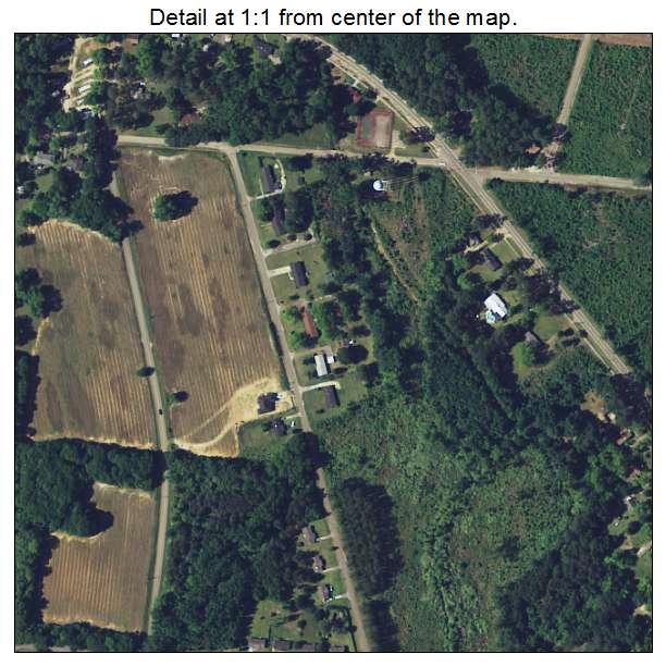 Denmark, South Carolina aerial imagery detail
