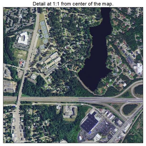 Dentsville, South Carolina aerial imagery detail