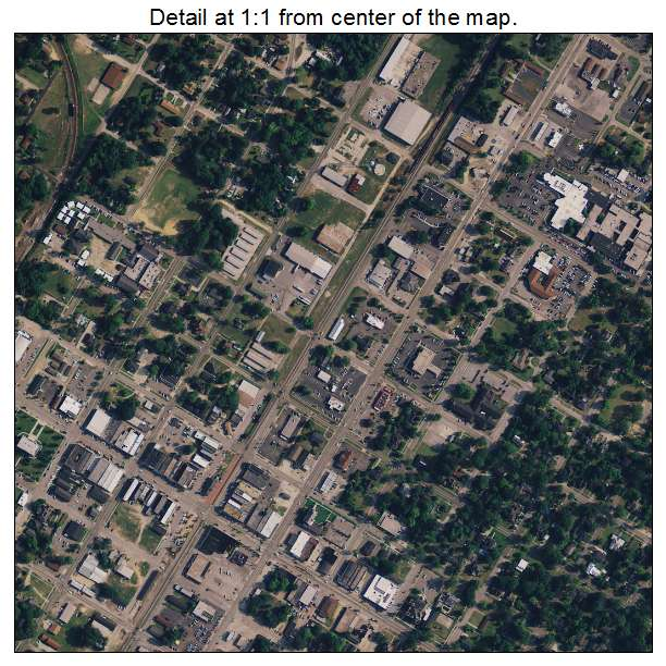 Dillon, South Carolina aerial imagery detail