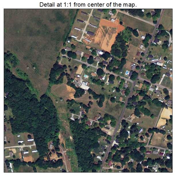 East Gaffney, South Carolina aerial imagery detail