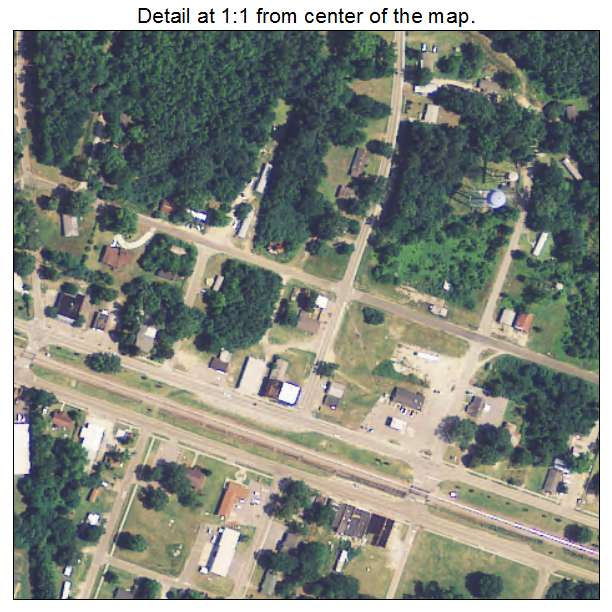 Eastover, South Carolina aerial imagery detail