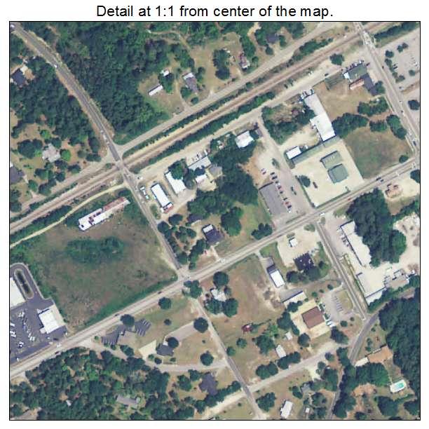 Elgin, South Carolina aerial imagery detail