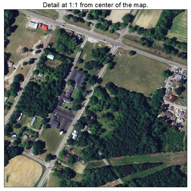 Elko, South Carolina aerial imagery detail