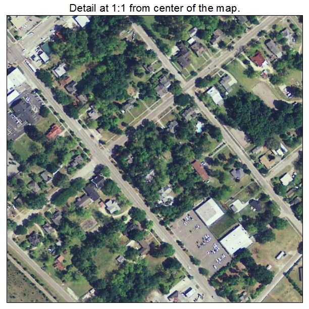Elloree, South Carolina aerial imagery detail