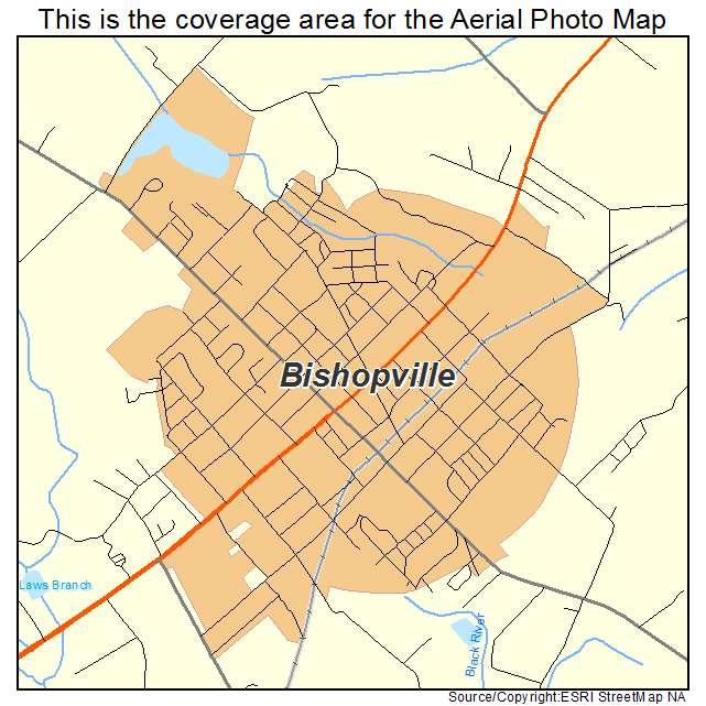 Bishopville, SC location map