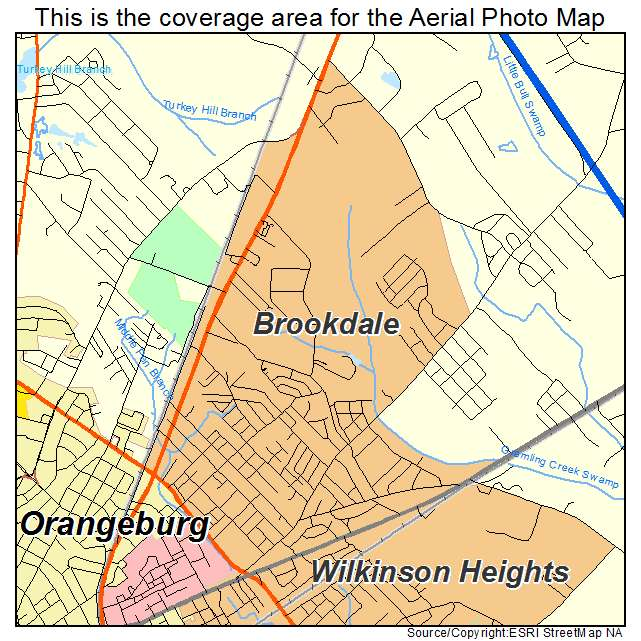 Brookdale, SC location map