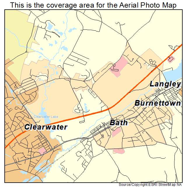 Burnettown, SC location map